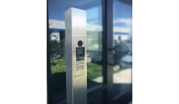 Pedestal PRO And Aiphone Launch The 64TOW-AIP-001-304 Freestanding Entry Station Tower