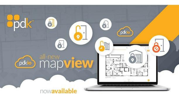 ProdataKey Brings Map View To Their Pdk Software Interface For Users To Control Door Locks By Looking At The Mobile Screen