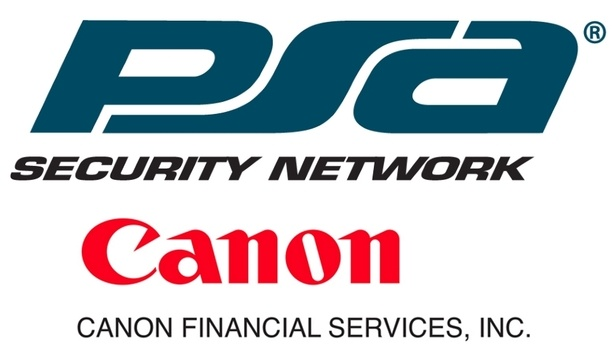 PSA Security Announces A New Financing Solution Partnership With Canon Financial Services