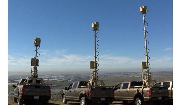 PureTech Systems Deploys Trucks With Telescoping Surveillance Payloads At Border Patrol's San Diego Location