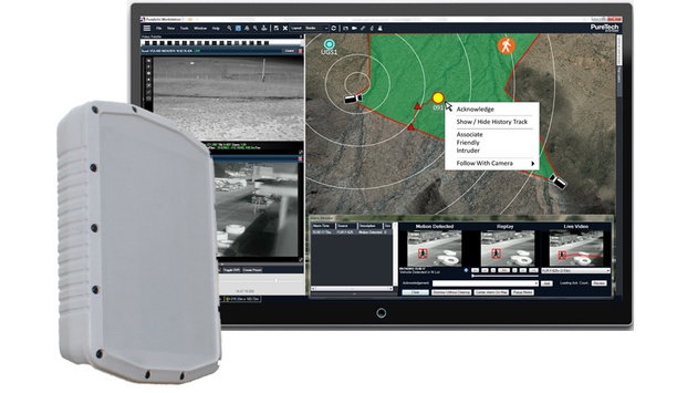 PureTech Systems Integrates PureActiv Video Analytics With SpotterRF Radar