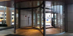 Boon Edam Revolving Doors Installed At Froedtert & The Medical College Of Wisconsin Health Network