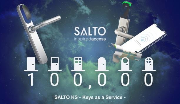 Cloud-Based Access Control SALTO KS Reaches 100,000 Access Points Milestone