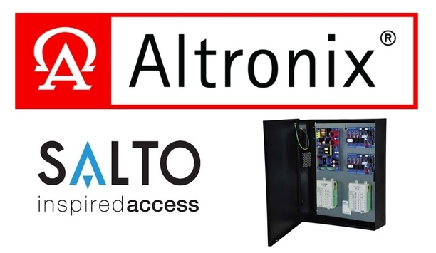 SALTO Systems Joins Altonix's Trove Access And Power Integration Solutions