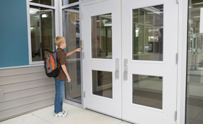 School security: Communication and controlling access