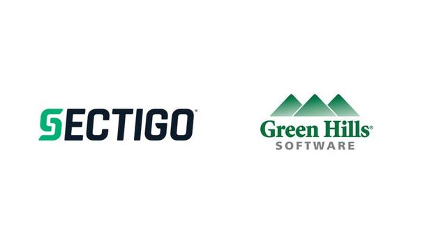 Sectigo And Green Hills Software Partner To Enhance Endpoint Device Protection