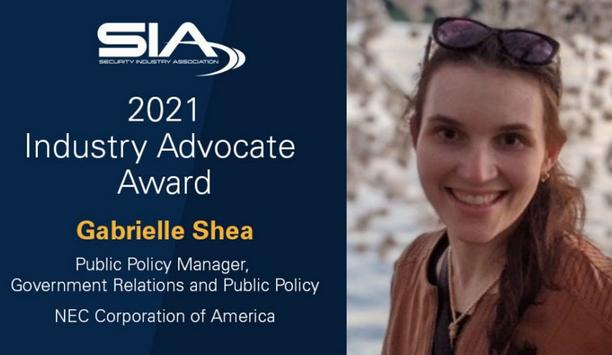 SIA recognizes Gabrielle Shea as the 2021 recipient of the Industry Advocate Award