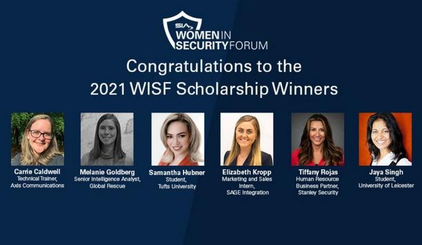 Security Industry Association Names Six Recipients For The 2021 SIA Women In Security Forum Scholarship