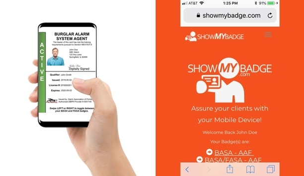 ShowMYBadge From The CMOOR Group Offers E-badging System For Security, Fire And Life Safety Industry