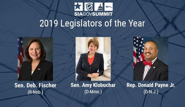 Security Industry Association Announces Winners Of The 2019 Legislator Of The Year Award