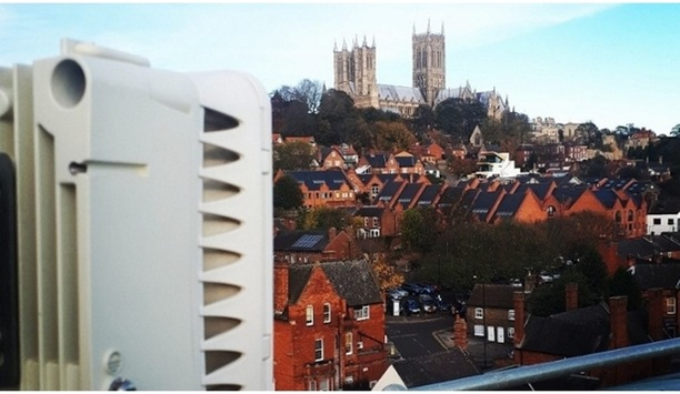 Siklu's Wireless Radios And Network Links For IP CCTV Surveillance System Safeguard City Of Lincoln