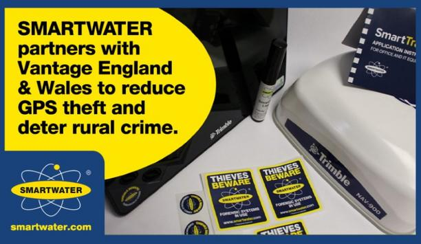 SmartWater Technology Limited Partners With Vantage England & Wales To Reduce GPS Theft And Deter Rural Crime