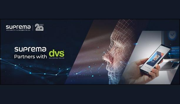 Suprema Announces Partnership With DVS To Expand Distribution Portfolio