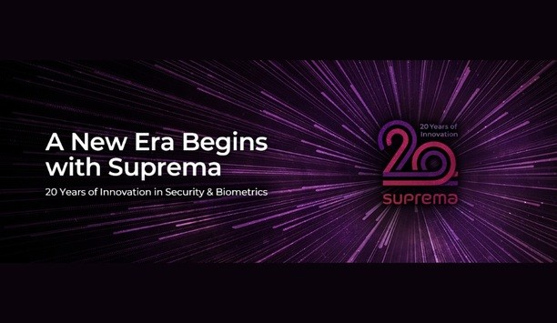 Suprema Marks 20th Anniversary Celebrations By Releasing New Emblem