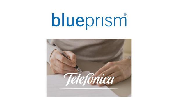 Telefónica Germany Saves 150,000 Minutes Per Month Using Blue Prism Intelligent Automation
