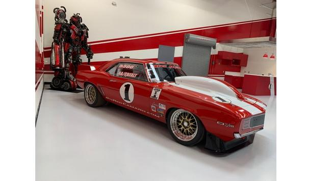 The Iconic Big Red Camaro Open-Road Racing Car Deploys Hanwha Techwin Cameras, As Part Of Video Surveillance System At New Facility