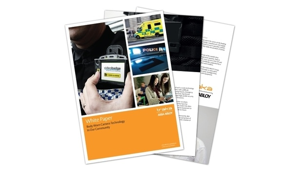 Traka's Whitepaper Focuses On Body Worn Camera Technology For Video Surveillance