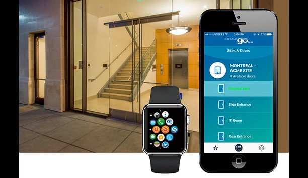 Tyco Security Products Introduces EntraPass Go Pass Support For Apple Watch