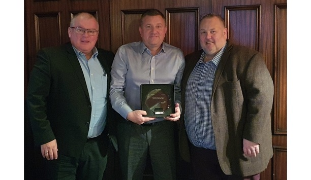 Universal Security Wins The Johnson Controls' C-CURE 2019 Partner Of The Year Award