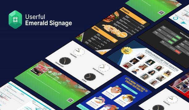Userful Launches New Corporate Signage Application Signaling Breakthrough In Visual Engagement For The Enterprise