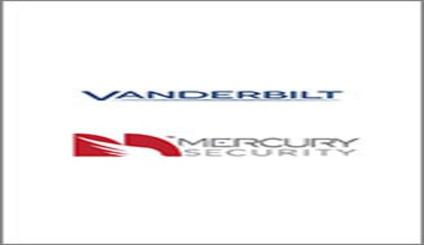 Vanderbilt Devices Now Support Mercury Security's Hardware Controllers And Peripheral Panels