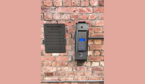Videx Security Equips Hicking Building Ltd's Residential Flats With Its GSM 4812 Intercom System For Assisted Access Control