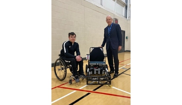 Videx Donates Power Chair To The Newcastle Power Chair Football Club To Encourage Power Chair Football