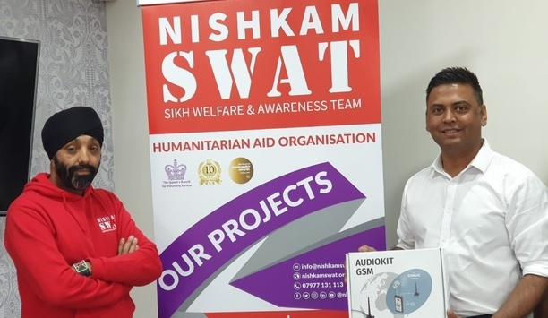 Videx Security Provides GSM Access Control System To NiskhamSWAT Charity