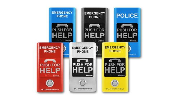 Viking Launches Emergency Phones With ADA Standards For Handsfree Emergency Communication