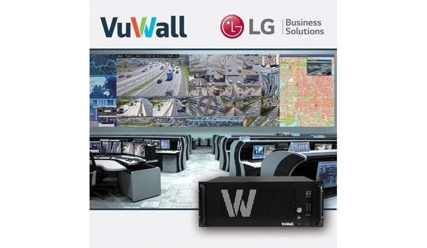 VuWall's VuScape Video Wall Processor Combined With LG's 55SVH7F Video Wall Display