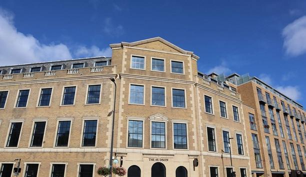 WLS Installs Electronic Safety And Security Systems At The Hudson Office Building