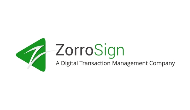 ZorroSign Announces Release Of Enhanced Support For Mobile Biometrics To Electronically Sign Documents