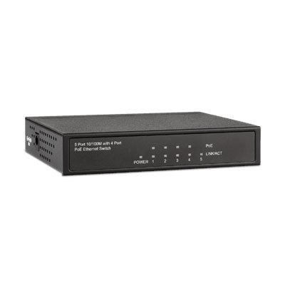 Messoa POS04T00 4 Channel Unmanaged PoE Switch