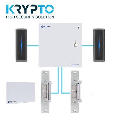 CDVI UK A22KITK2-DS Encrypted Access Control Kit with Strike Locking