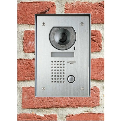 Aiphone JFSS-1 1-way Surface Stainless Steel Video Panel With Color Camera