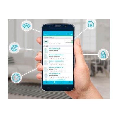 Visonic Alarm Install Mobile Application