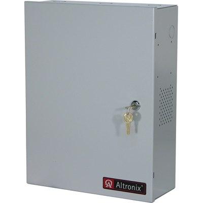 Altronix ALTV1224CCB CCTV Power Supply, 16 PTC Outputs, (8 @ 12VDC and 8 @ 24VAC) @ 7A, 115VAC, BC400 Enclosure