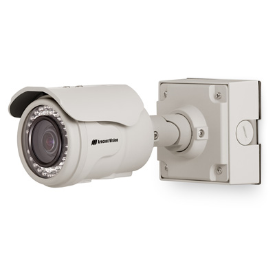 Arecont Vision AV5225PMIR 5MP Motorized P-Iris Lens Bullet-Style IP Camera
