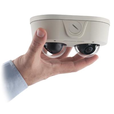 Arecont Vision AV4655DN Remote Focus User-configurable Multi-sensor IP Dome Camera