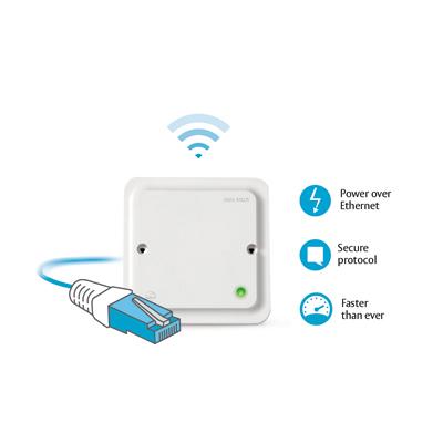 ASSA ABLOY - Aperio™ AH50 1-to-8 Standard IP Communications Hub