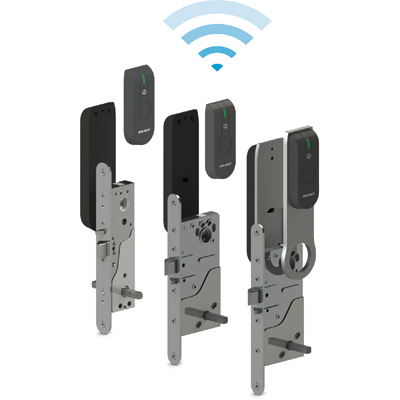 ASSA ABLOY - Aperio™ L100 SCAND Electronic Lock With Standard RFID-reader