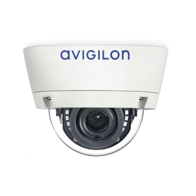 Avigilon 1.0C-H4A-D1-IR H4 HD Indoor Dome Camera With Self-learning Video Analytics