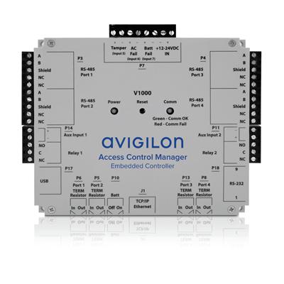 Avigilon AC-HID-LSP-ACMEC-KIT4 Four Door Reader Kit