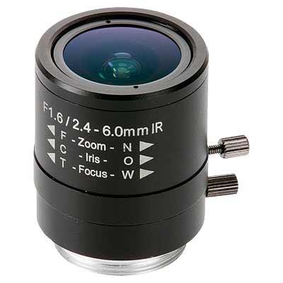 Axis Communications 5503-181 Manual Iris Varifocal Lens