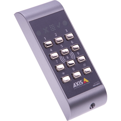 Axis Communications AXIS A4011-E Generic Touch-free Reader With Keypad