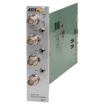 Axis Communications AXIS P7224 4 Channel Video Encoder Blade