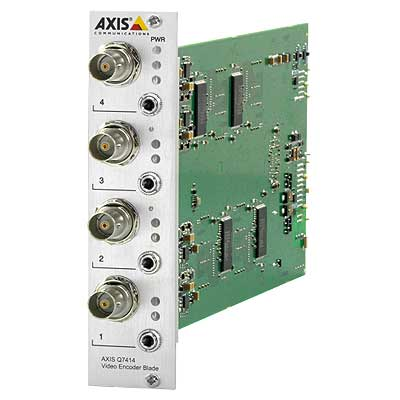 Axis Communications AXIS Q7414 4 Channel Video Encoder Blade