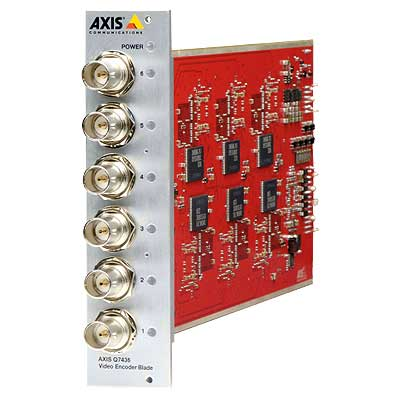 Axis Communications AXIS Q7436 6 Channel Video Encoder Blade