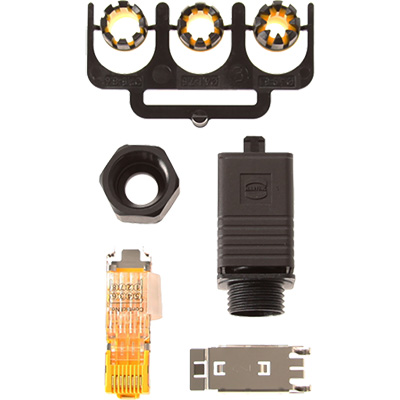 Axis Communications RJ45 Connector Push Pull Plug Connector Kit