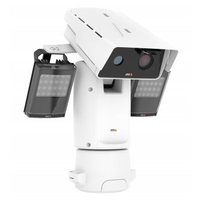 Axis Communications AXIS Q8742-LE, Zoom 8.3/30 fps HDTV 1080p Thermal PTZ IR IP Camera